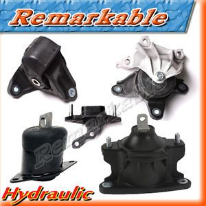 G027 Transmission Engine Motor Mount Kit Honda Accord Crosstour Acura TSX 2 4L