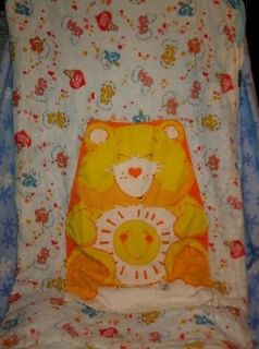 Vintage Care Bears Snoozle Pillow Sleeping Bag Slumber Pet Funshine Bear Hide