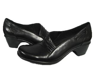 Womens Clarks Wish Foxtrot Black Dress Heels Shoes Size