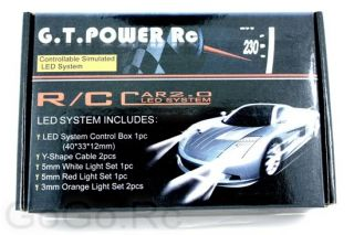 G T Power RC Car 2 0 LED Flashing Light System GT002