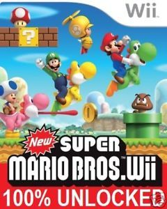 New Super Mario Bros Nintendo Wii Cheat Save Unlocked