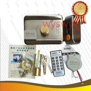 Door Electronic Lock Remote Control Em RFID Card Reader Key Access Controller