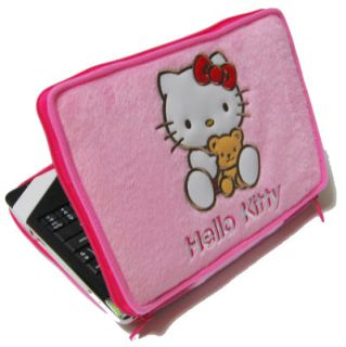 Hello Kitty Mini Tablet Laptop Pad Pod Phone Travel Case Pink Soft Cover LP7