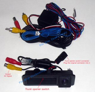 Car Parking Backup Rear View Reverse Camera for Audi Q5 A4 A5