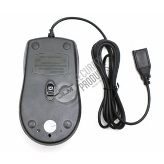 Functional Optical Mouse w Color Pinhole Hidden Spy Camera DVR Video Recorder