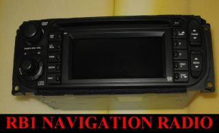 02 Chrysler Jeep Dodge RB1 Navigation GPS CD Radio