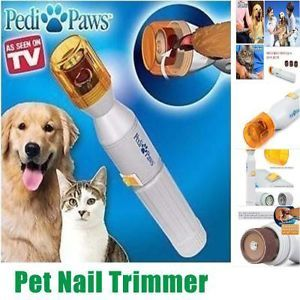 New Pet Dog Cat Electric Nail Grooming Care Grinder Trimmers Claw Clipper