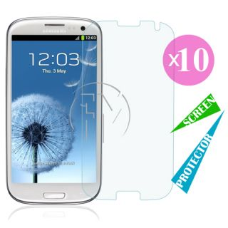 Clear LCD Screen Protector Guard Film Skin for Samsung Galaxy S3 s III I9300