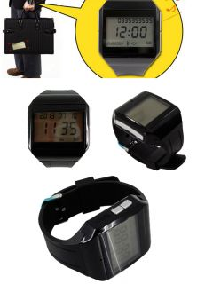 Black Digital Bluetooth Watch Communication Answer Fr Smart Phones Incoming Call