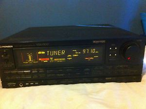 Pioneer VSX 9300 Audio Video Stereo Receiver Dolby Surround Pro Logic Vintage