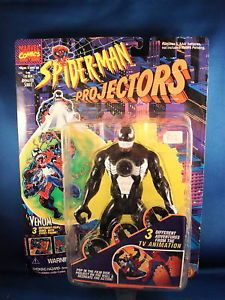 1994 Marvel Spiderman Projectors Venom Action Figure