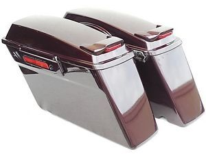 Harley Davidson Touring FLH Flt Saddl with Speaker Mounts Spoiler Kit