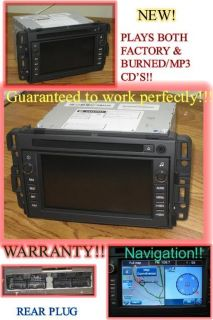 New 2007 2013 Chevy Silverado Tahoe GMC Sierra Bose Nav Navigation Radio CD
