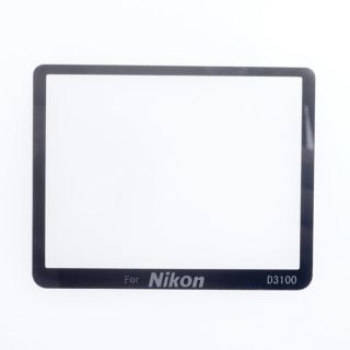 Pro Hard Glass LCD Screen Protector Guard for Nikon D3100 DSLR