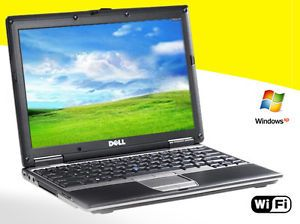 1 Dell Latitude D420 Netbook Core Duo Laptop XP 3 WiFi Ultra Thin Ultra Light