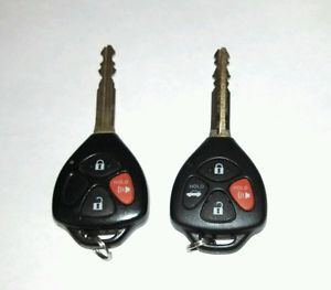 Lot of 2 Toyota Scion Key Fobs Keyless Entry Remotes