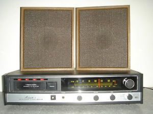 Vintage Realistic Modulette 8 Track Stereo Shelf System 13 1402A Works
