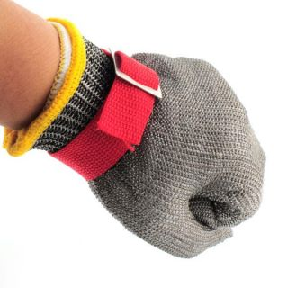 New Safety Cut Equipment Resistant Stainless Steel Metal Mesh Butcher Glove