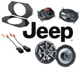 New Kicker Jeep Wrangler TJ 97 07 KS460 KS650 Upgrade Factory Upgrade Speakers