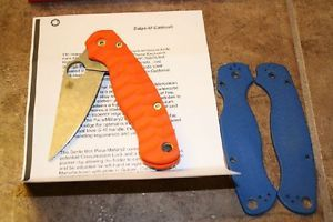 Spyderco Para Military 2 M390 Custom Scales Knife
