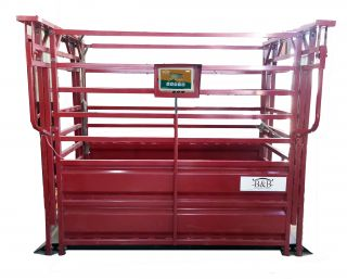 5 000lb Weigh Cage Livestock Cattle Scale for Cow Pig Hog Sheep Goat 4H FFA