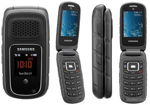 Samsung Rugby III SGH A997 Black Unlocked Cellular Phone Rugged Cell Phone