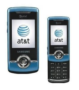 Samsung SGH A777 3G Slider Blue Unlocked GPS Camera Cellular Phone
