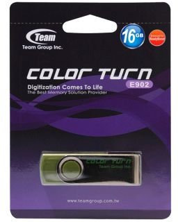 Team Color Turn 16GB 16g USB Flash Pen Key Thumb Drive Disk Memory Stick