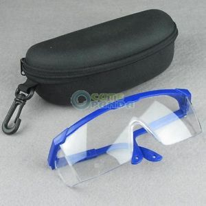 New Lab Clear Lens View Safety Specs Glasses Goggles Eyes Protection Tool