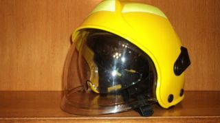 "Fire Fighting Helmet ""Fire Knight"" Made by CGF Yellow"