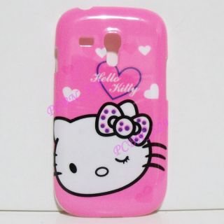 Hello Kitty P Phone Case Protector for Samsung Galaxy S3 Mini I8190
