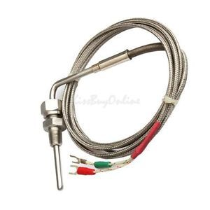 K1 2M EGT K Type Thermocouple Exhaust Probe High Temperature Sensors Threads New
