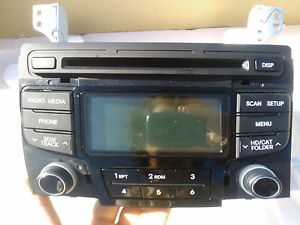 2011 2012 Hyundai Sonata Factory CD  XM Satellite Radio Stereo Player