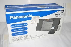 Panasonic CD  Radio 1 Disc Changer Shelf System SC EN37 800087323