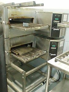 Lincoln Impinger Double Deck Conveyor Pizza Oven Pizzeria Stove Sub Toaster 1132