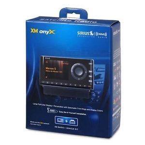 Sirius XM XDNX1V1 XM Onyx Dock Play Radio with Vehicle Kit 778890206849
