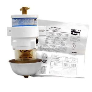 Racor 500MA10 Series Diesel Boat Fuel Filter Water Separator