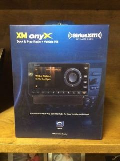 Sirius XM Onyx Dock Play Radio Vehicle Kit