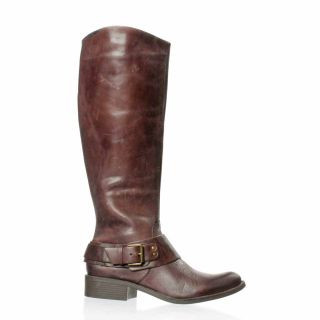 Jessica Simpson Beatricy Riding Boot Dark Brown Spider Dull 6 5