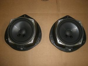 07 08 Chevy Aveo Notchback Pair Door Speakers Right Left Front UW6 7