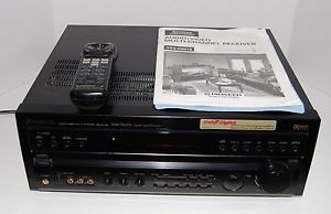 Pioneer VSX D607S Audio Video 5 1 Surround 240W Stereo Amplifier Receiver