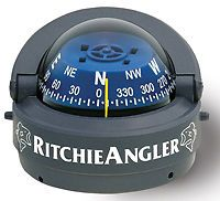Marine Boat Ritchie Angler RA 93 Surface Mount Compass