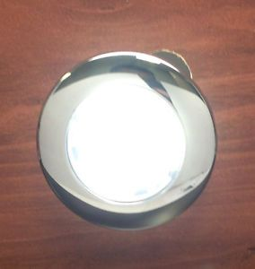 Marine Boat RV Stainless Steel LED White Courtesy Light Flush or Surface Mount