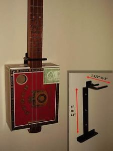 Cigar Box Guitar Universal Wall Mount