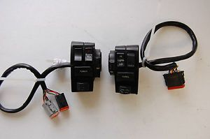 Harley Davidson FL Touring 1994 Handlebar Turn Signal Housings Switches Controls