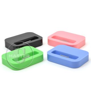 Black Charge Sync USB Cable Dock Station for Apple iPhone 3G 3GS 4 4S iPod Touch
