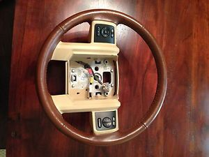 King Ranch Steering Wheel with Switches 2011 2012 Superduty