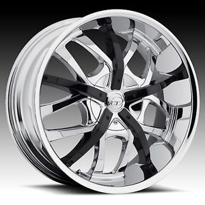 "18"" VCT Romano Chrome Rims 4x100 4x4 5 18 inch Wheels"