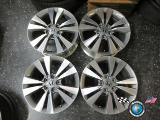 Four 08 12 Honda Accord Factory 17 Wheels Rims TE0775A Civic 63938