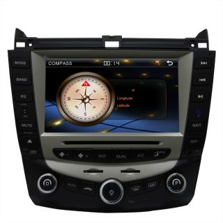 2003 07 Honda Accord Car GPS Navigation Radio DVB T TV Bluetooth DVD Player Unit